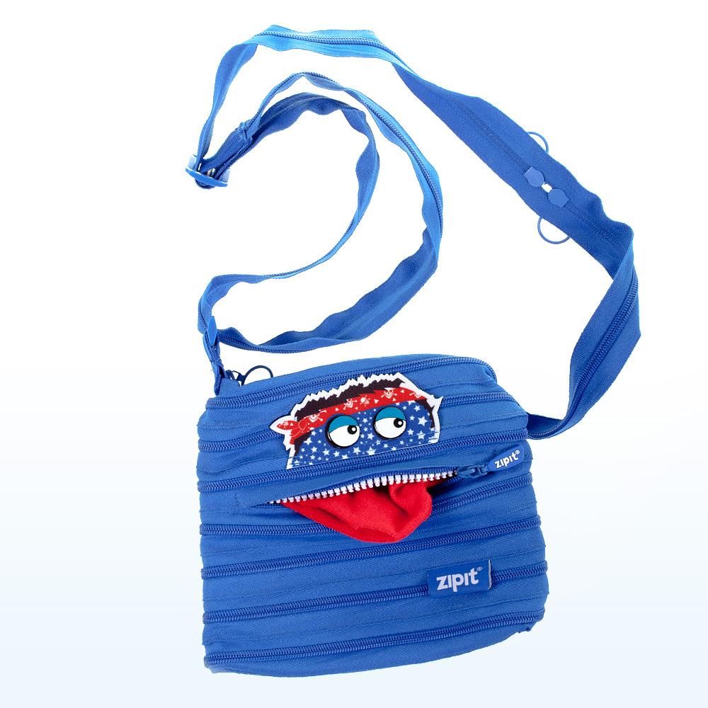 Taška na rameno ZipIt Monstar modrá