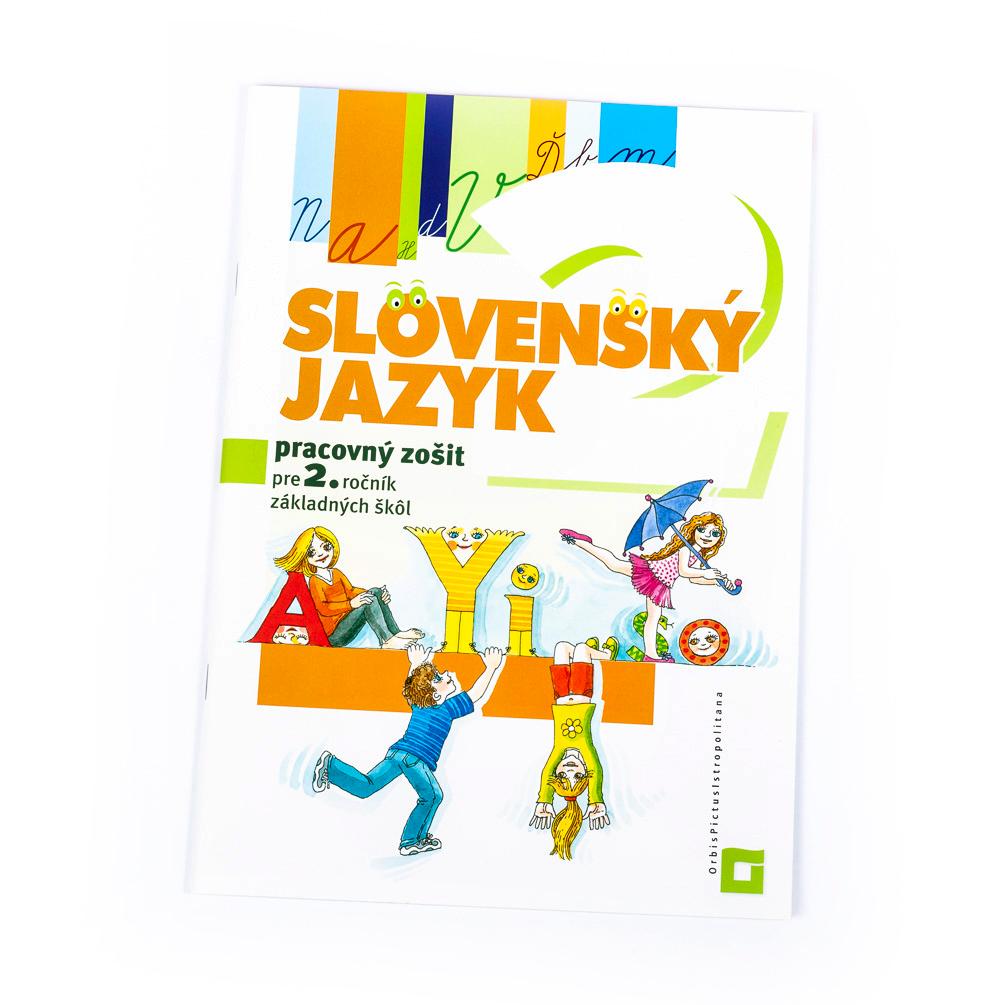 Pracovný zošit Slovenský jazyk pre 2.ročník ZŠ Orbis