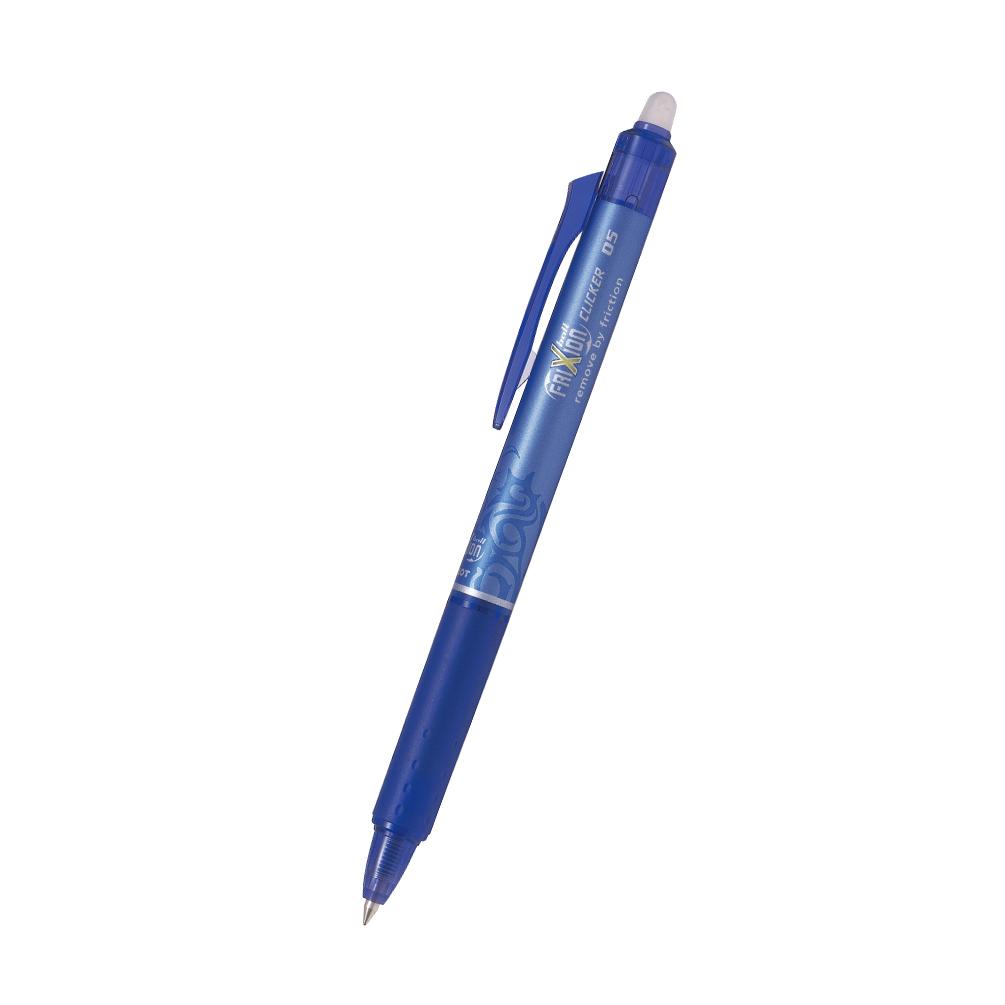 Pero gumovacie PILOT Frixion Clicker 0,5mm, modré