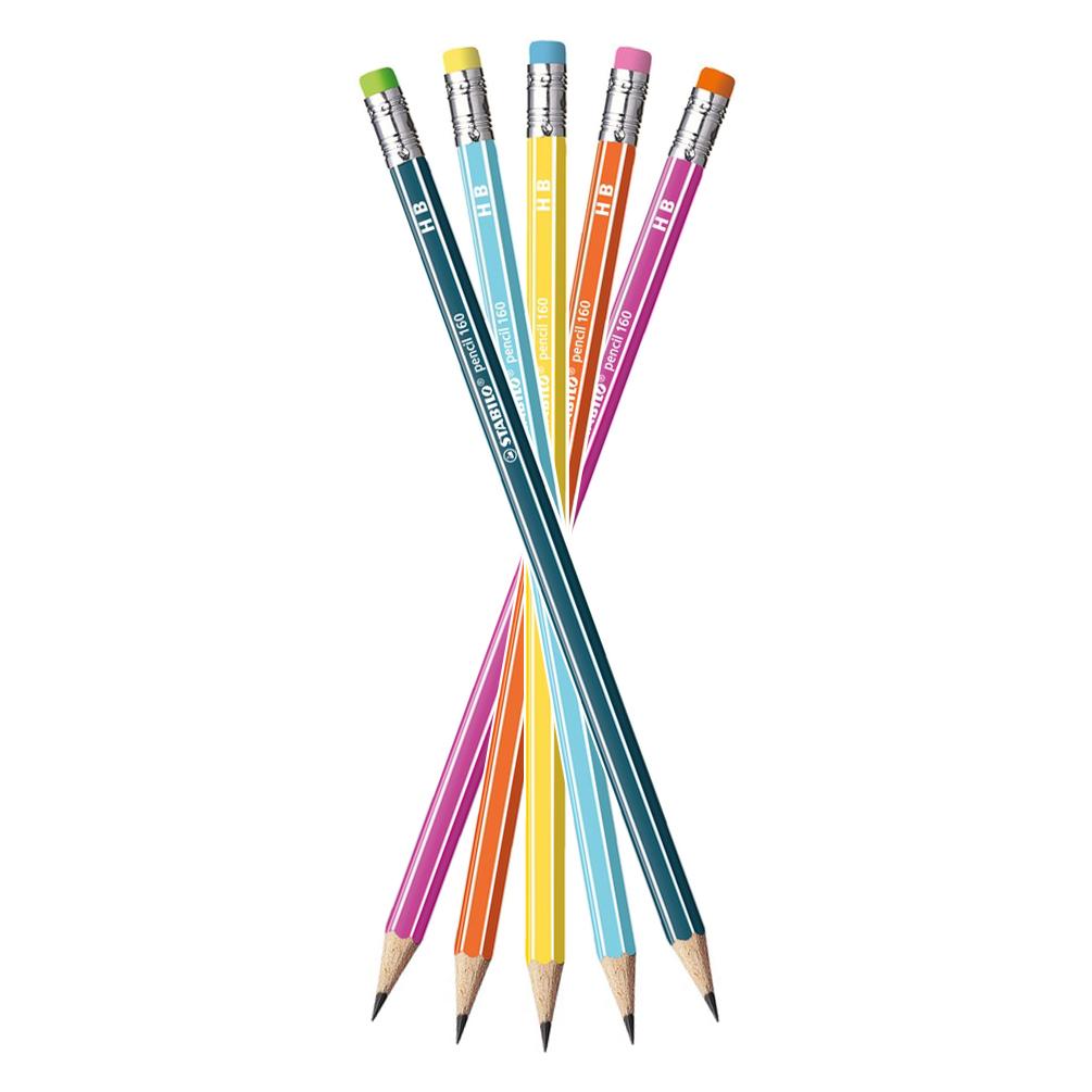 Ceruzka STABILO s gumou, tvrdosť HB