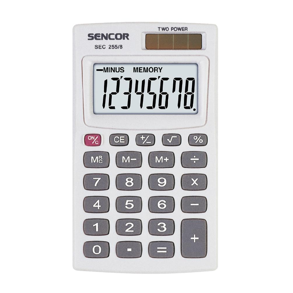 Kalkulačka Sencor SEC 255/8