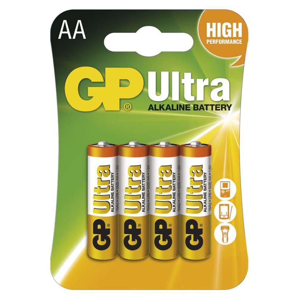 Batérie AA Ultra Alkaline 1.5V, 4ks