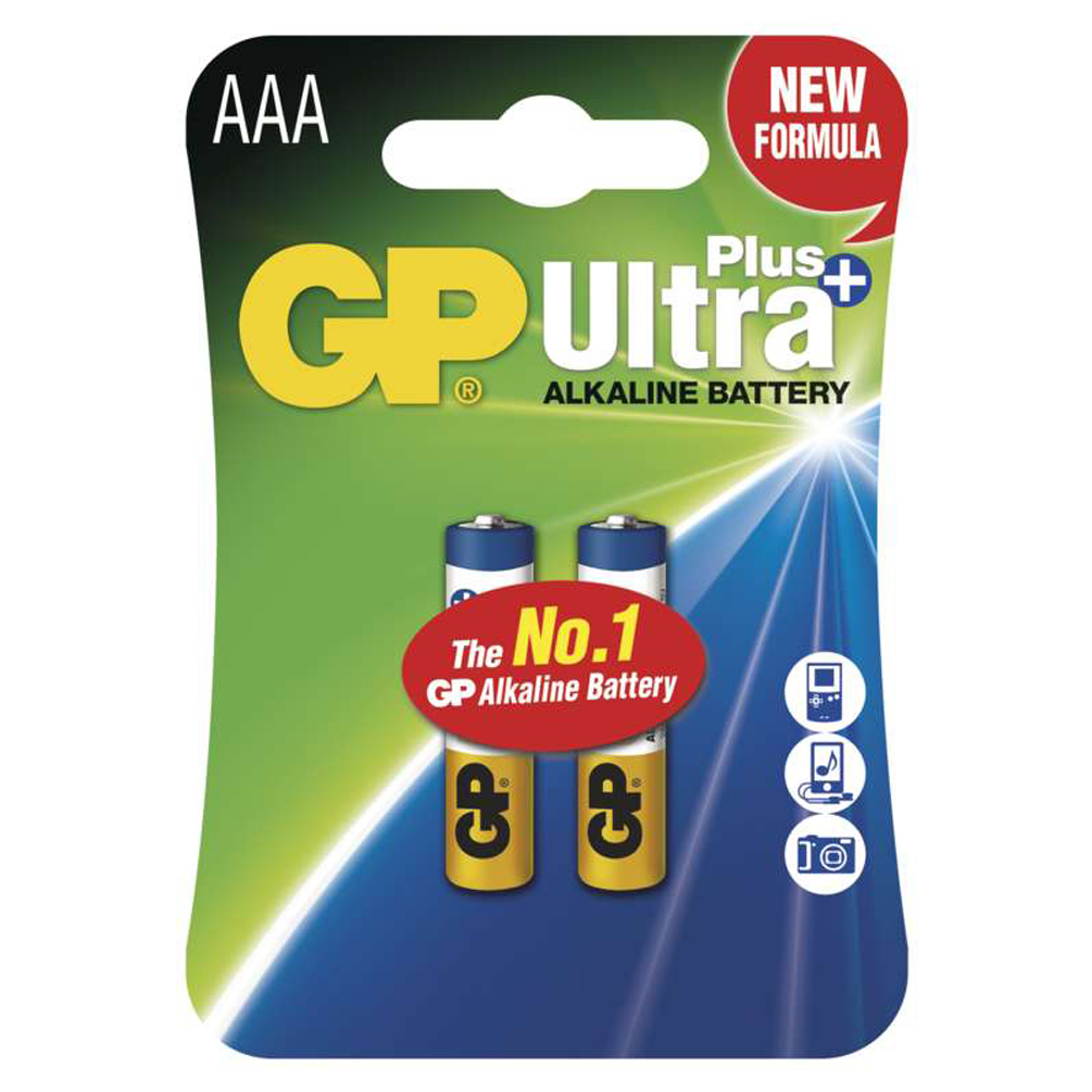Batérie AAA Ultra Plus Alkaline 1.5V, 2ks