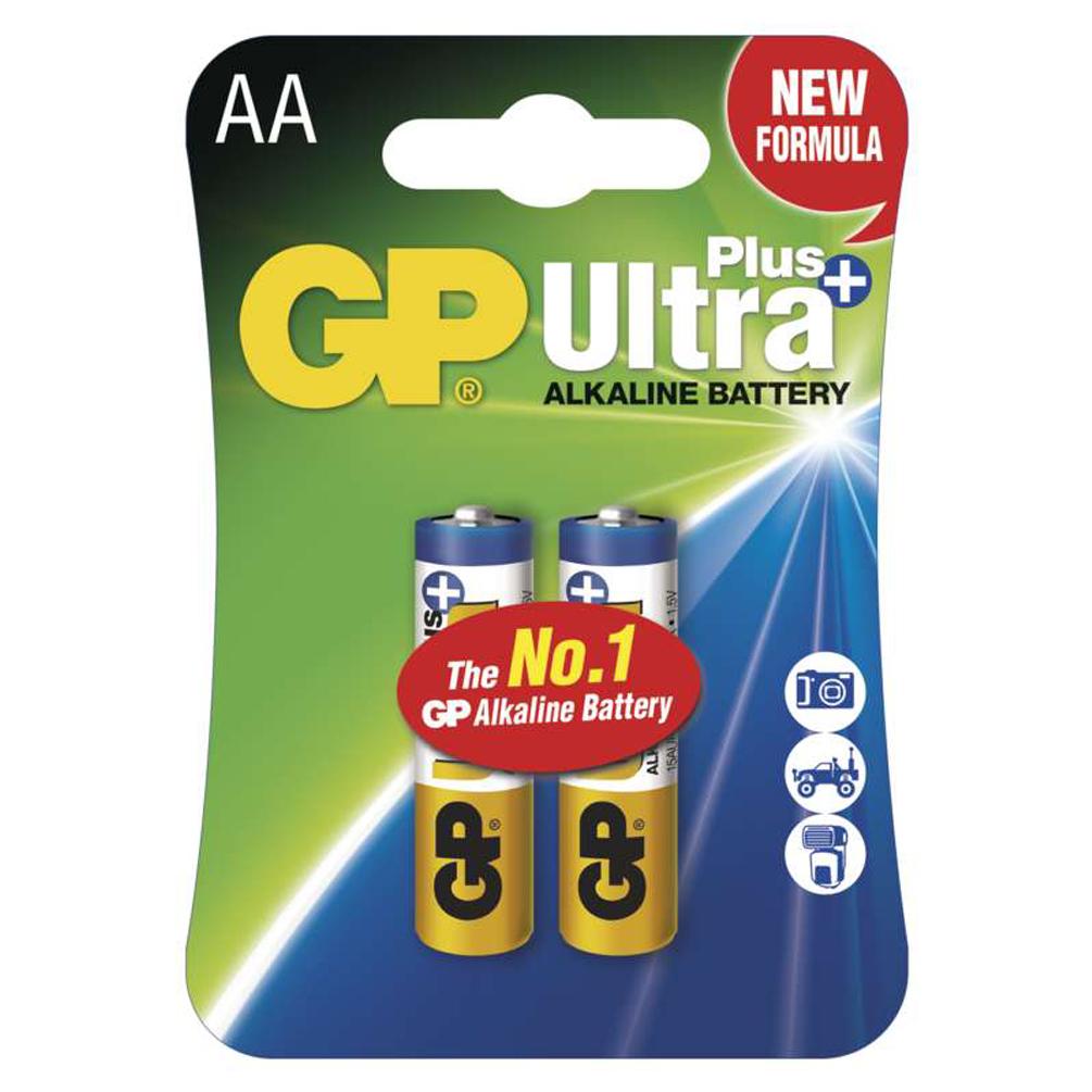 Batérie AA Ultra Plus Alkaline 1.5V, 2ks
