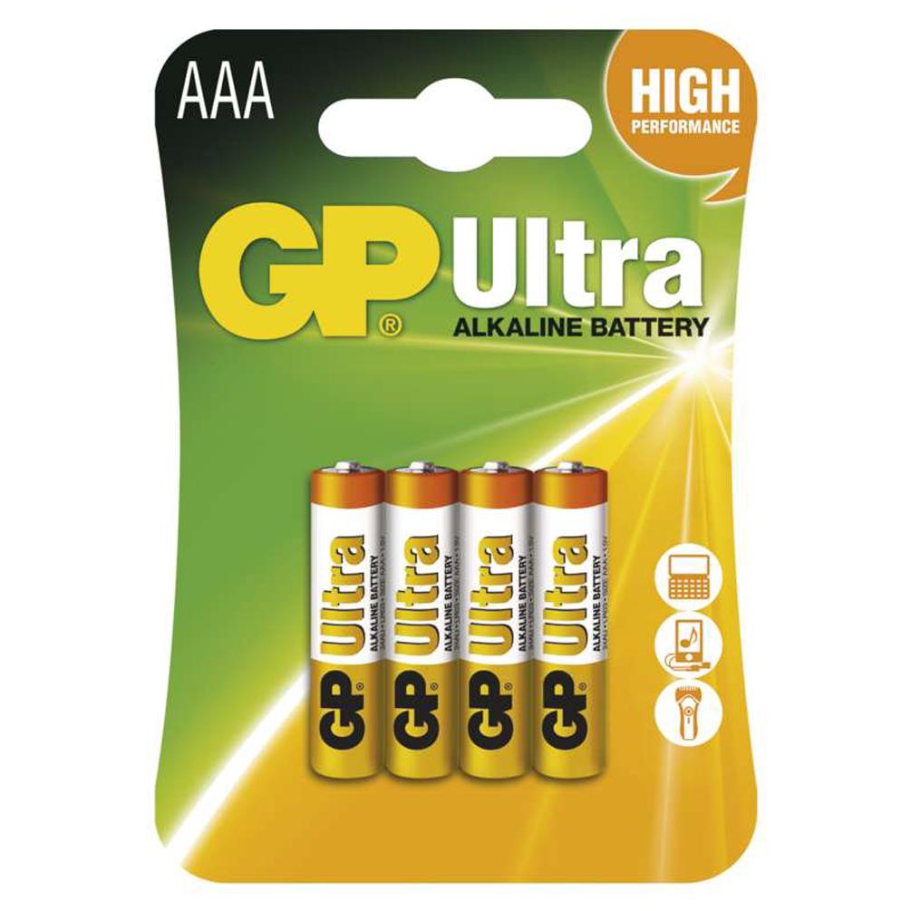 Batérie AAA Ultra Alkaline 1.5V, 4ks