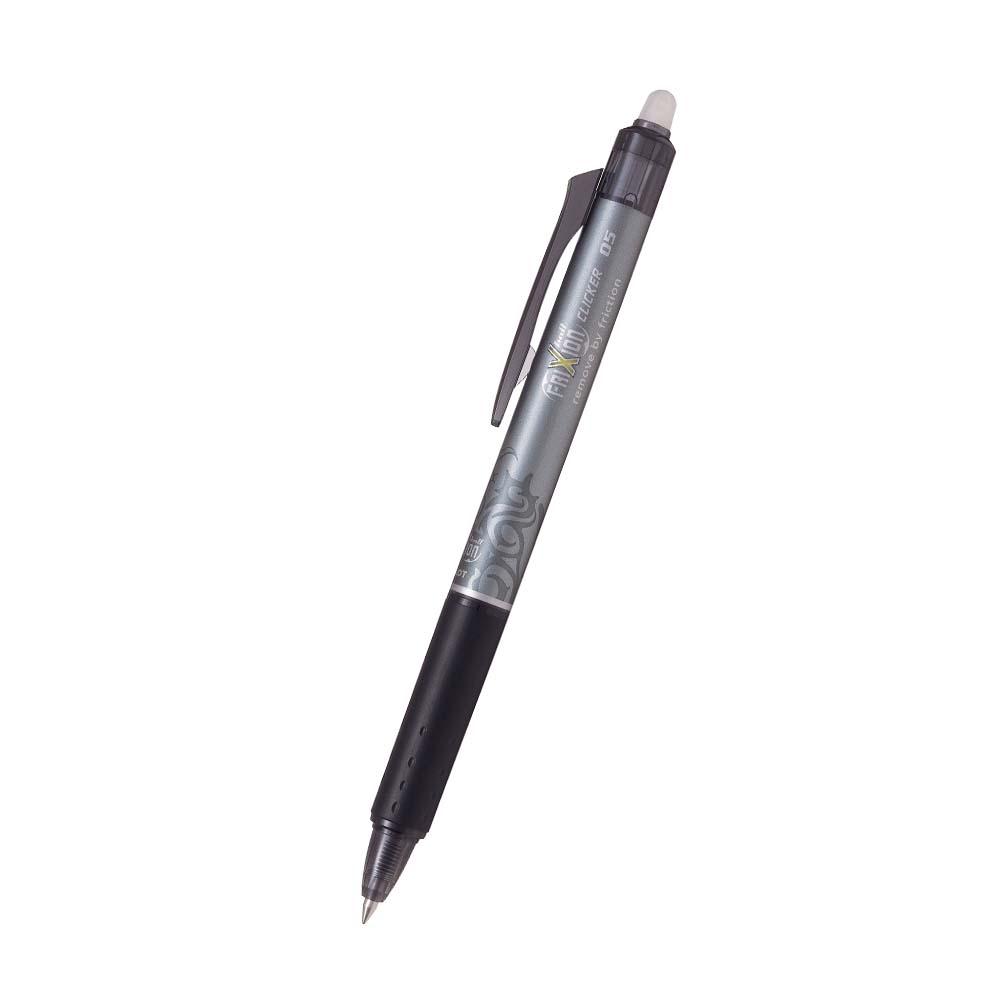 Pero gumovacie PILOT Frixion Clicker 0,5mm, čierne