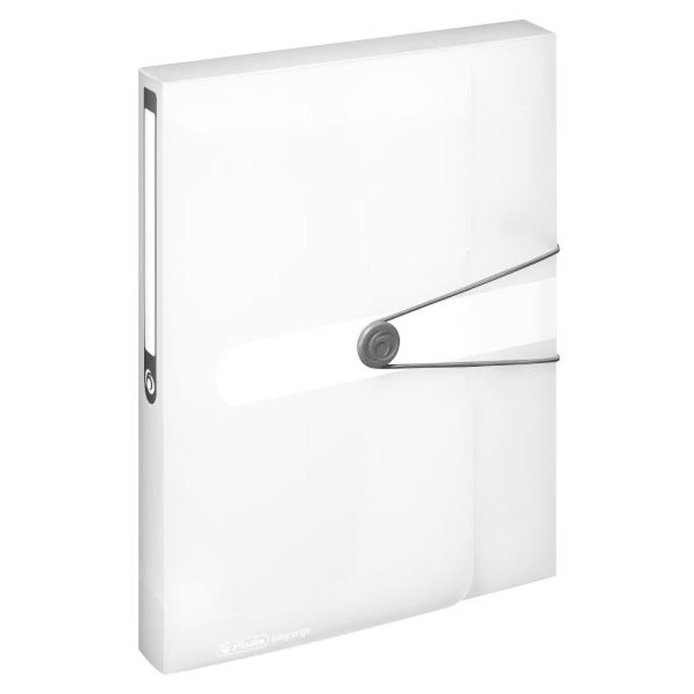 Box na dokumenty A4 4cm, transparentný