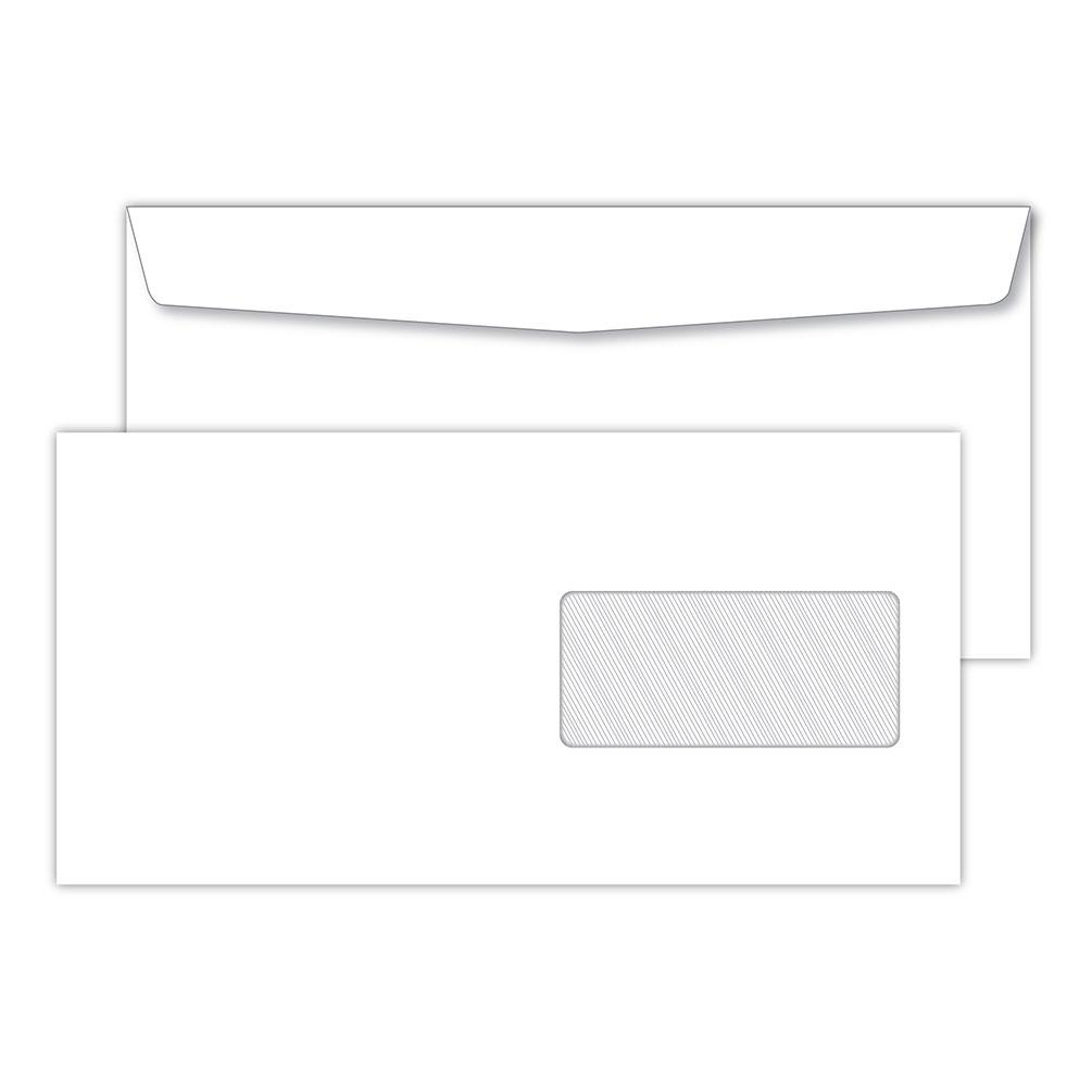 Obálka C5/C6 s okienkom olizová, nebalená 100ks