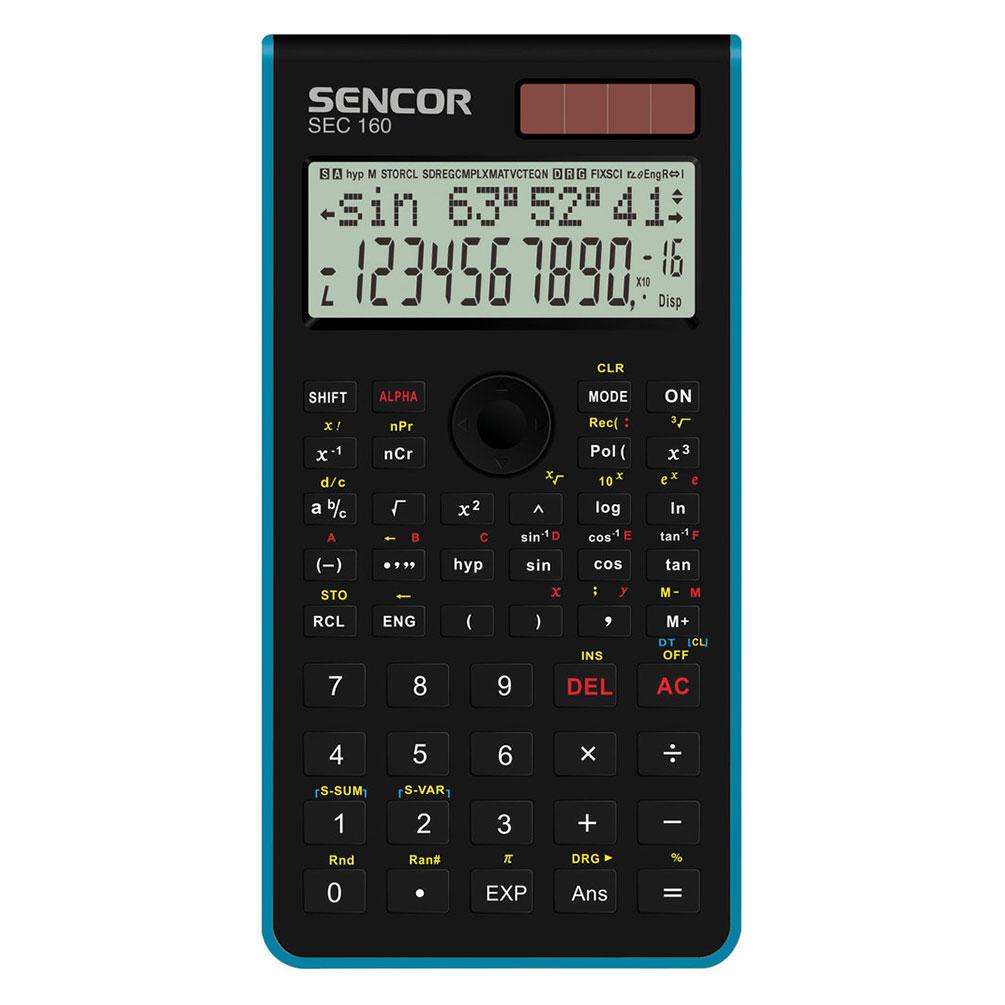 Kalkulačka Sencor SEC 160 s funkciami