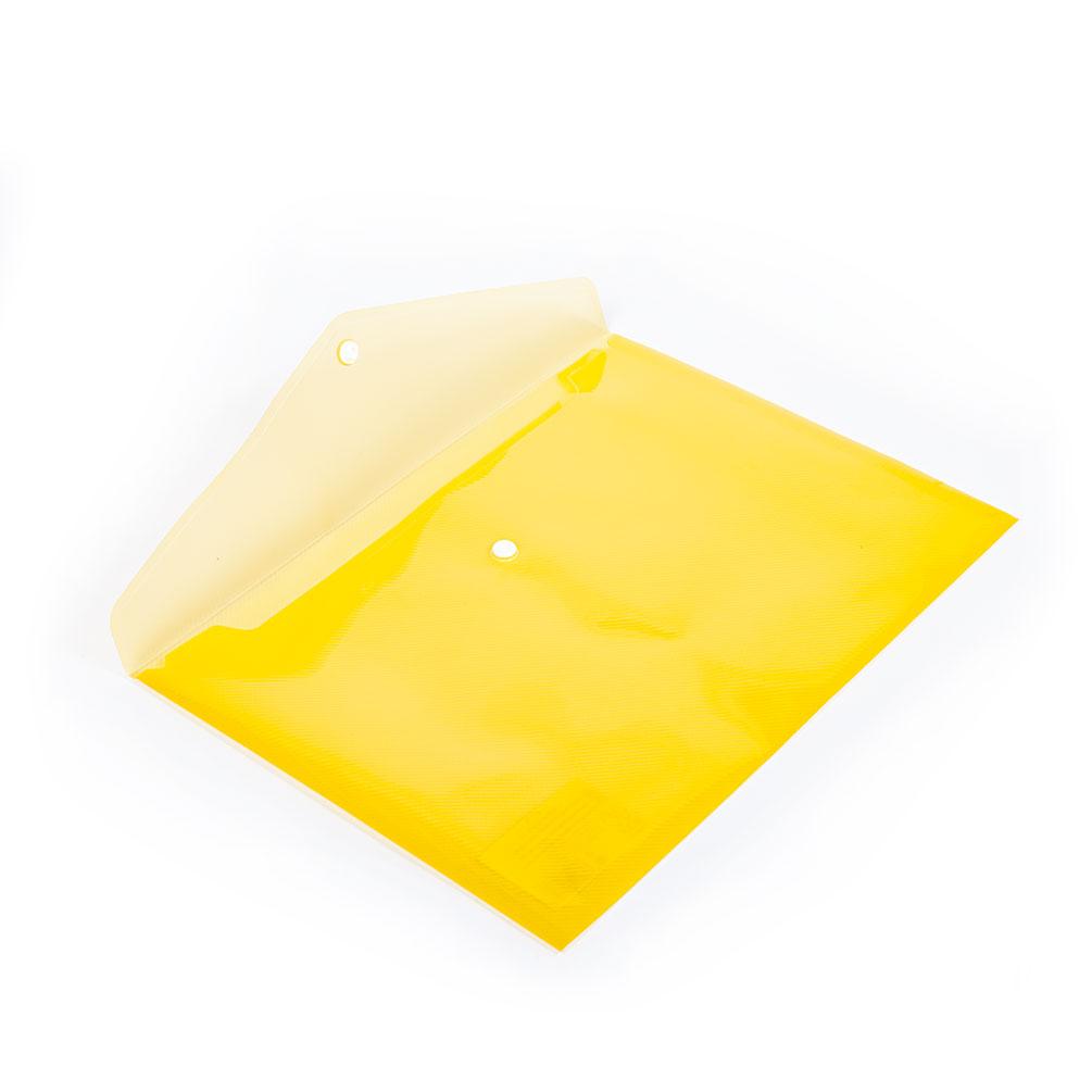 Obal A4 na dokumenty so zapínaním, žltý