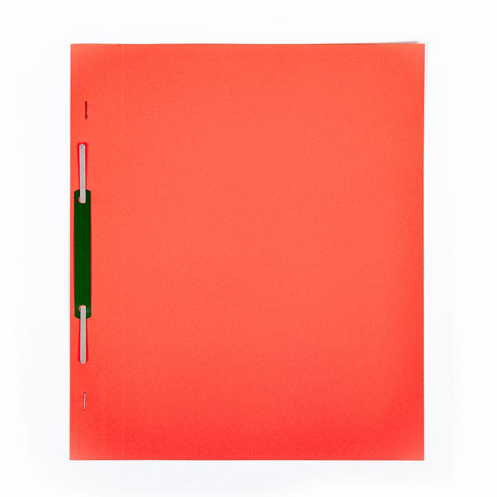 Rýchloviazač A4 Eco-Color Plus, červený