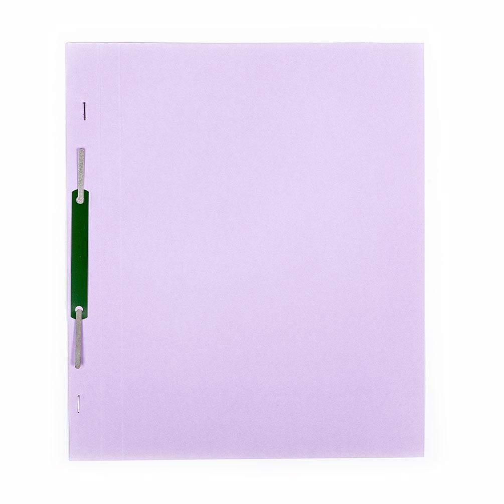 Rýchloviazač A4 Eco-Color Plus, fialový