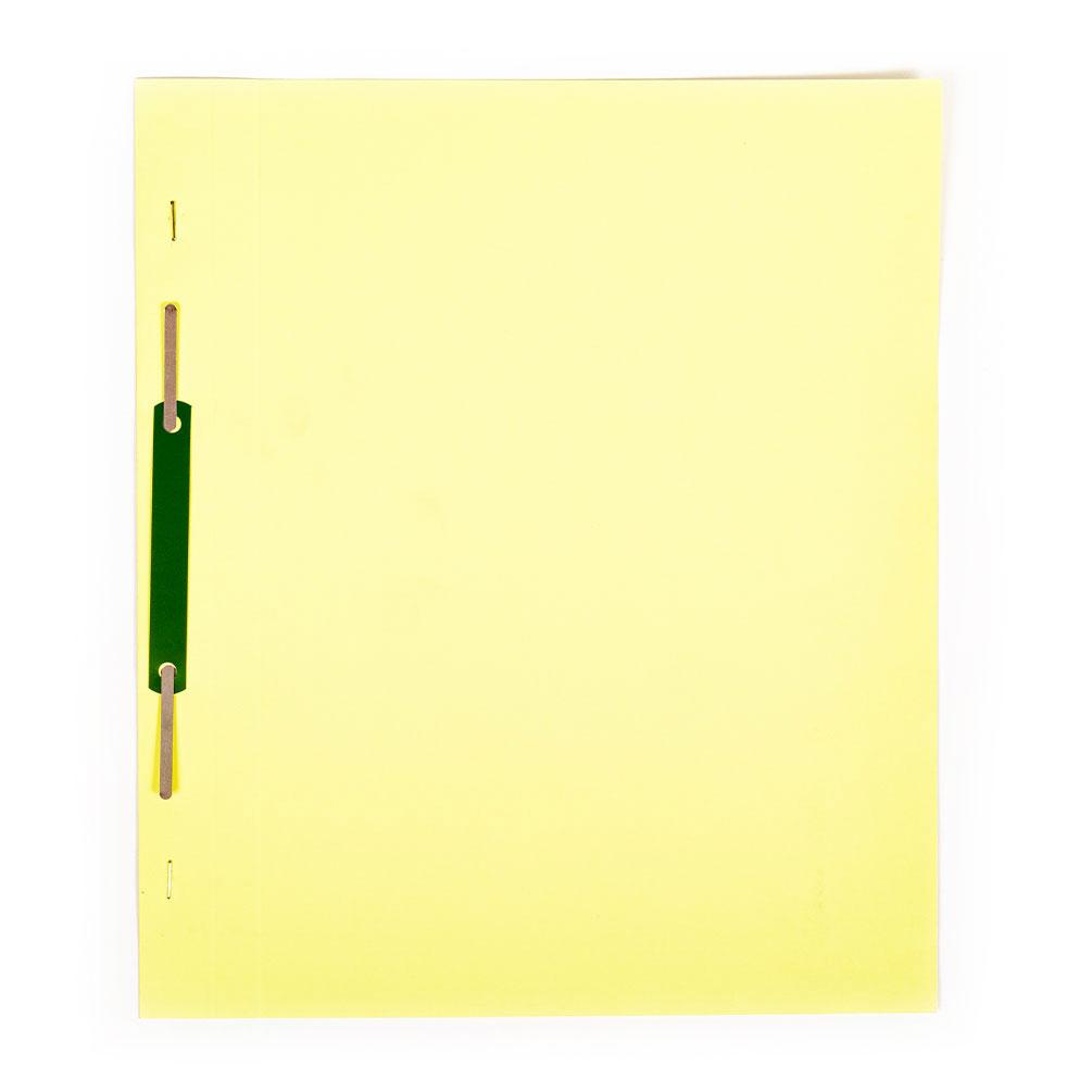 Rýchloviazač A4 Eco-Color Plus, žltý