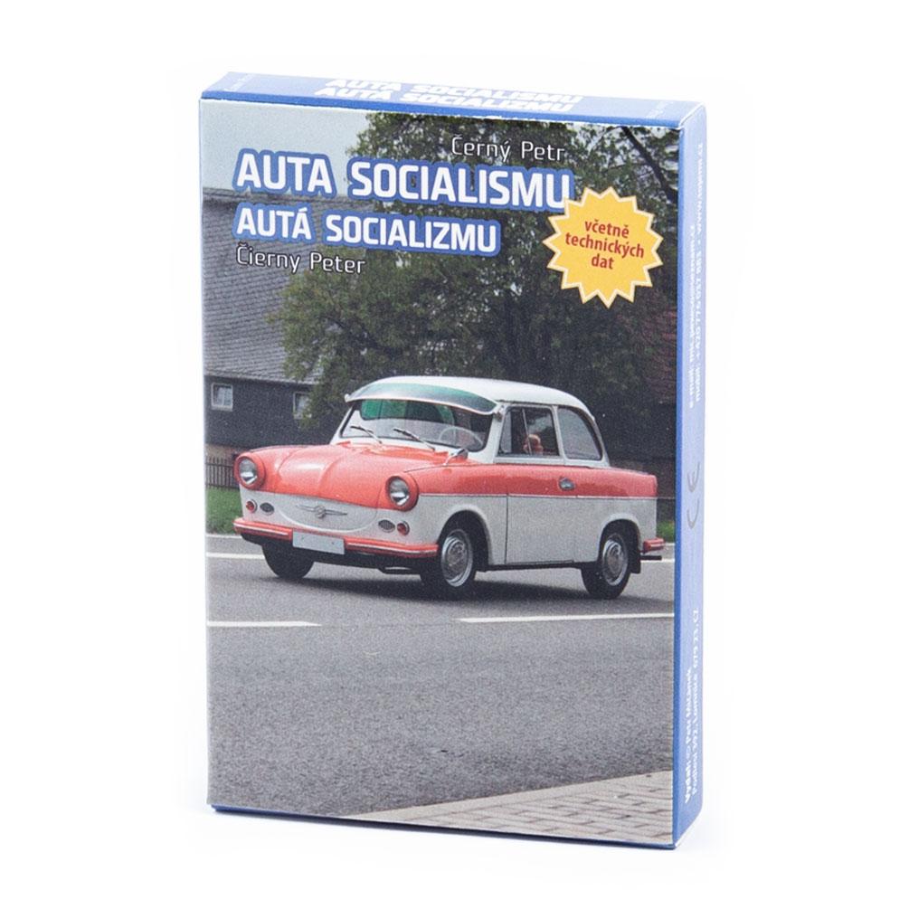 Karty Čierny Peter - Autá socializmu