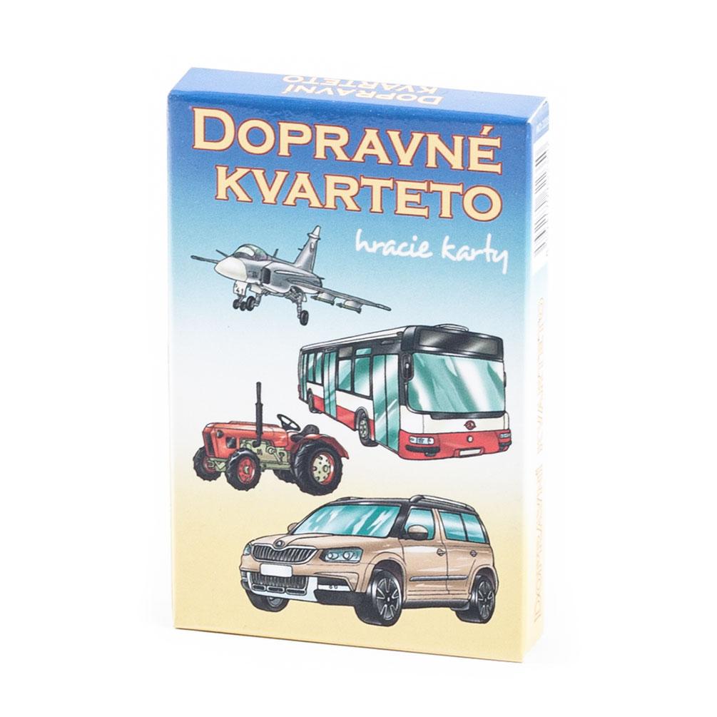 Karty Kvarteto - Dopravné prostriedky