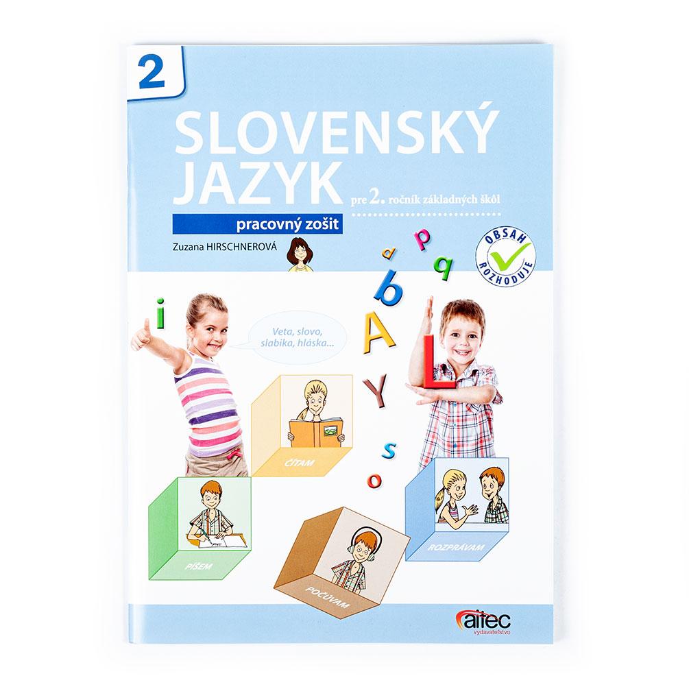 Slovenský jazyk pre 2.ročník ZŠ - pracovný zošit