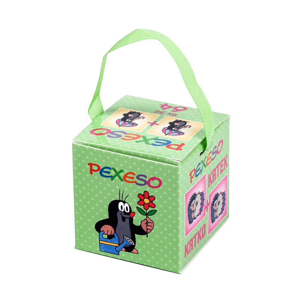 Pexeso v krabičke s úchopom Krtko