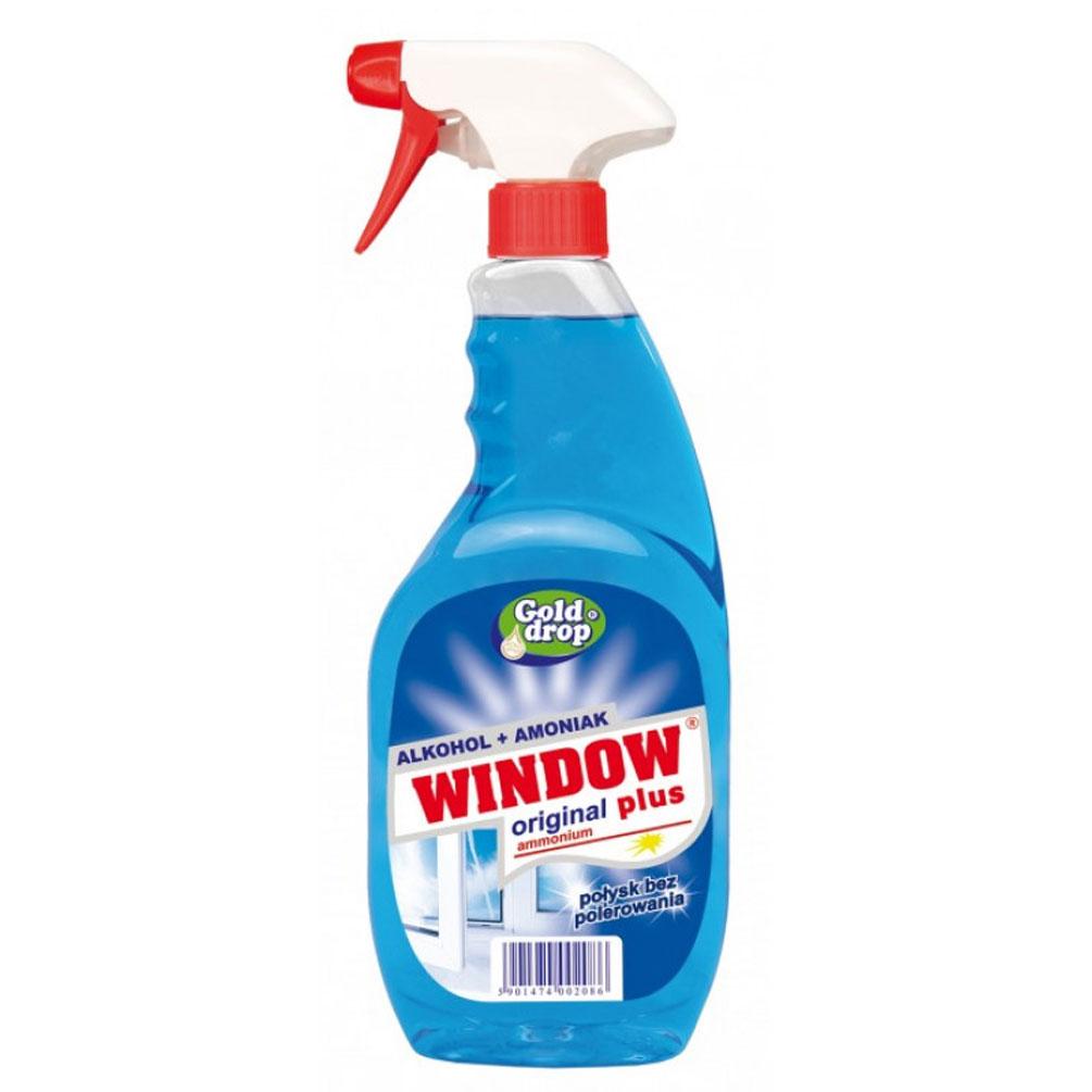 Prostriedok na umývanie okien Window 750ml, modrý