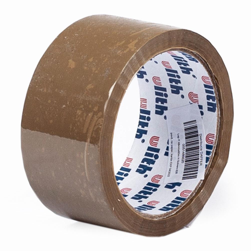 Lepiaca páska 48mm x 60m Solvent PP, hnedá