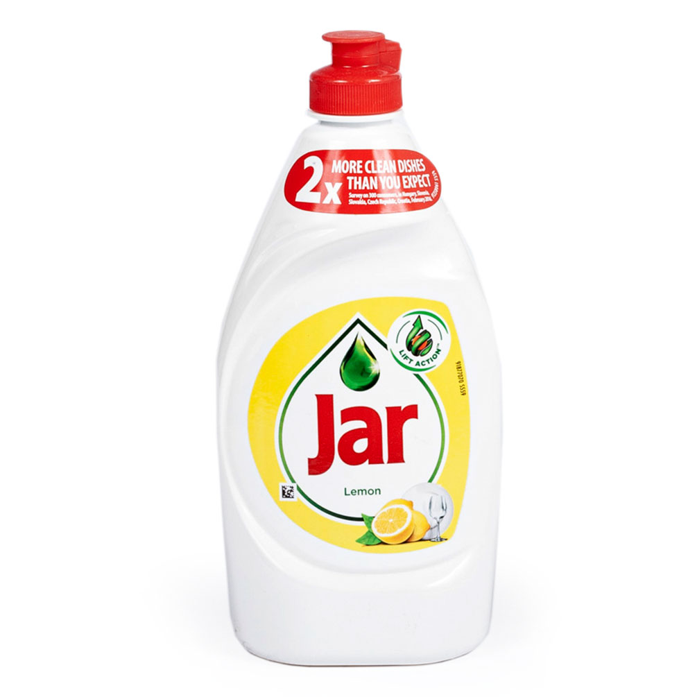 Jar - prostriedok na umývanie riadu 450ml, citrón