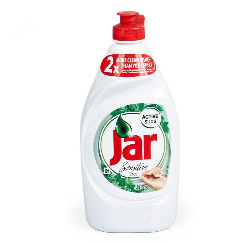 Jar Sensitive - prostriedok na umývanie riadu 450ml, mäta