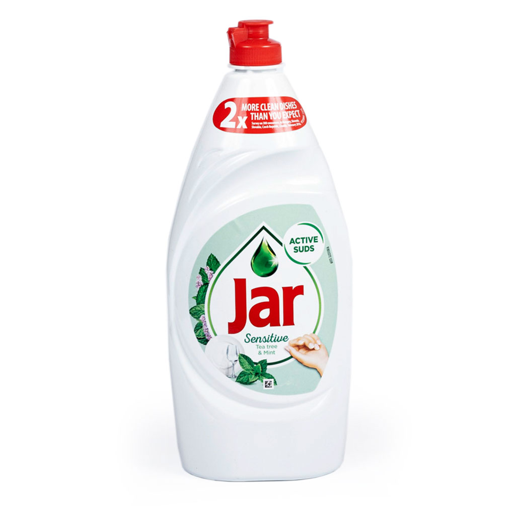 Jar Sensitive - prostriedok na umývanie riadu 900ml, mäta