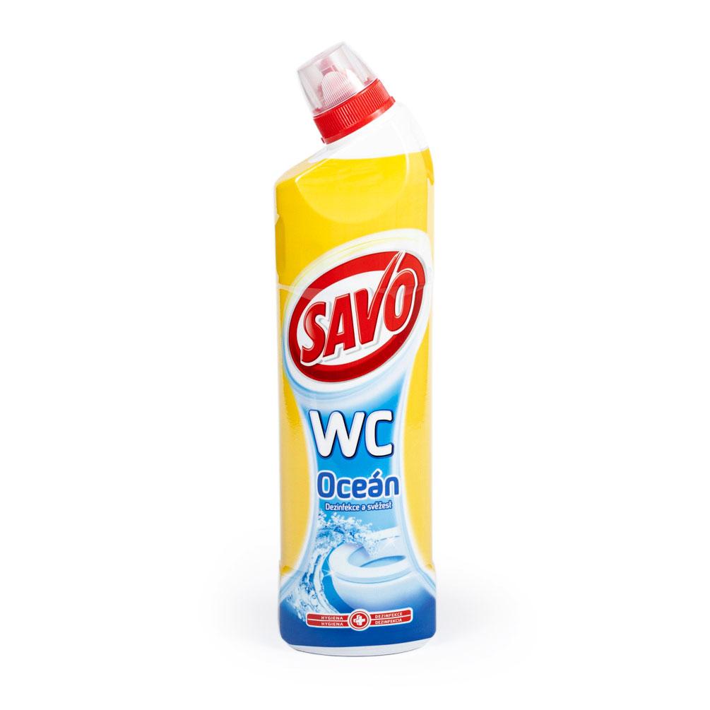 WC čistič SAVO 750ml, oceán