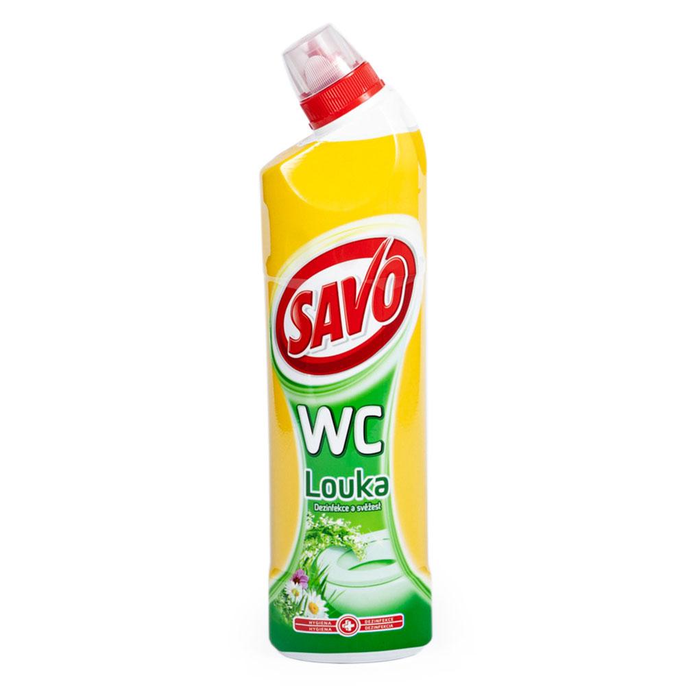 WC čistič SAVO 750ml, lúka