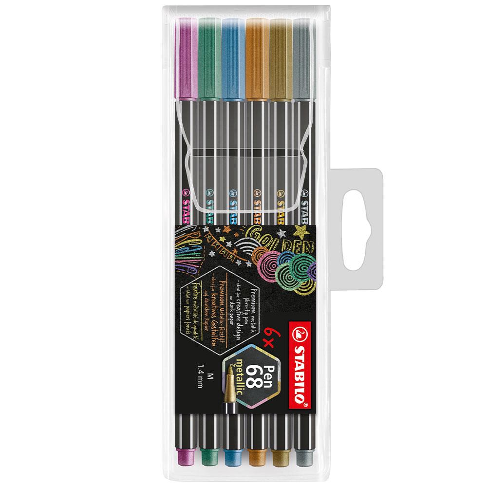 Fixky Stabilo Pen 68 Metallic sada 6ks