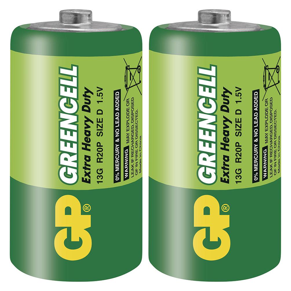 Batérie D EHD 1.5V, 2ks